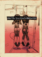 and the dim streets they haunt (webcomic) by catshops
