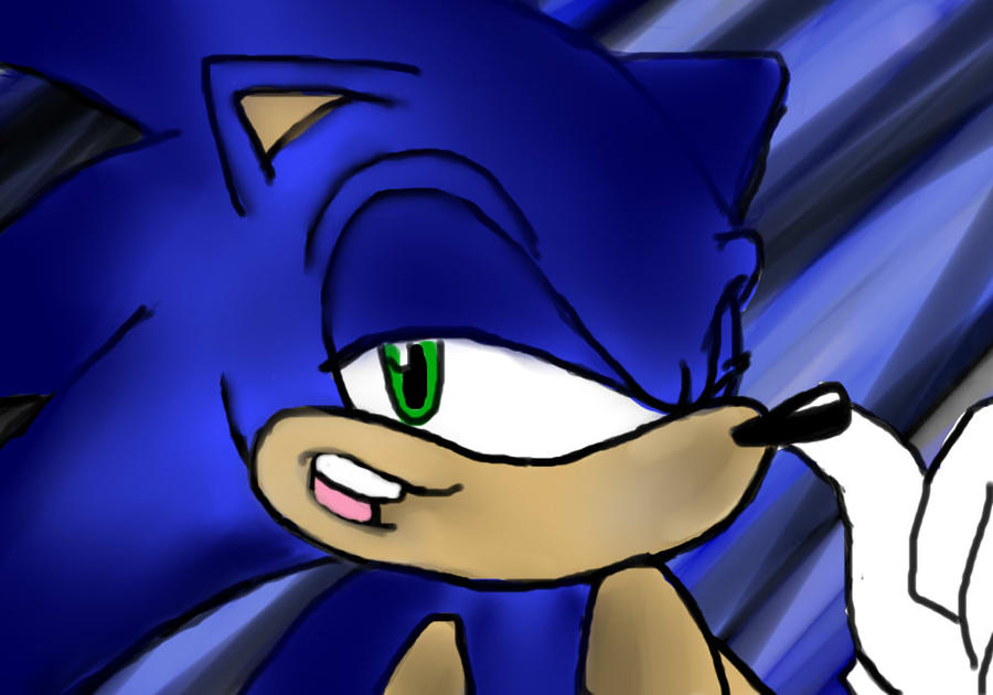 OHS - Sonic unfinished by Nico-Robin09