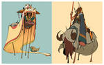 The Shepherd, the Hunter by Yutaan