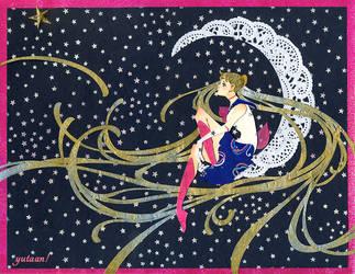 Lace Moon by Yutaan
