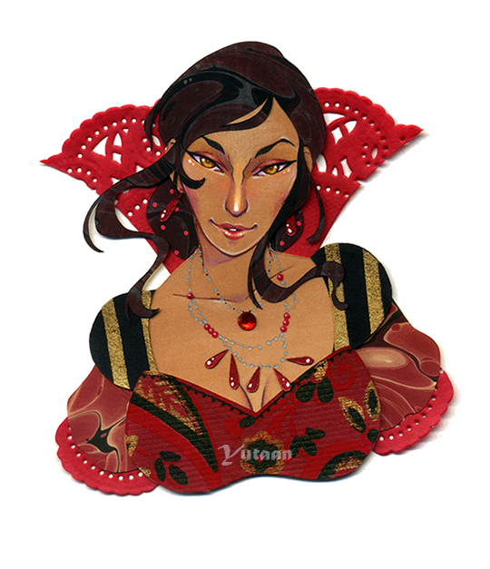 Deepest Scarlet by Yutaan