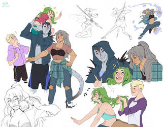 Wren + Pals - Character Sheet