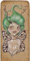 Pixie bookmark no. 17