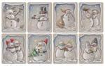 Christmas tags, set 2