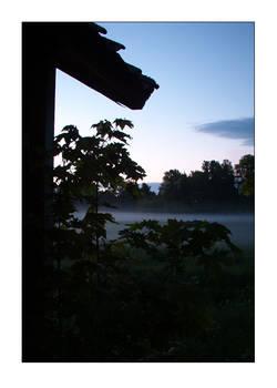 'at dawn'