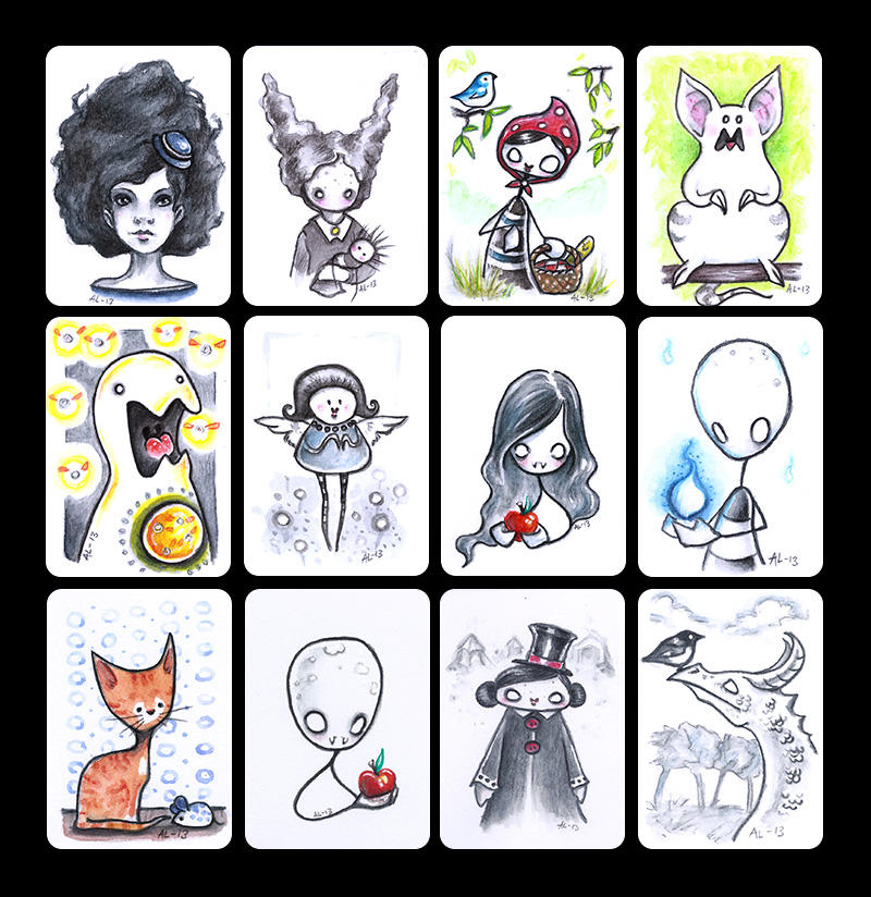 2013 - ACEO collection 1