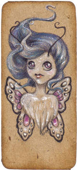 Pixie bookmark no. 12