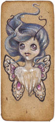 Pixie bookmark no. 12 by akinna