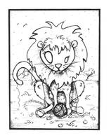'The Lion' by akinna