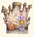 A Princess and her Dragon