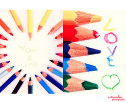 I will paint my words of love. by zitrochan