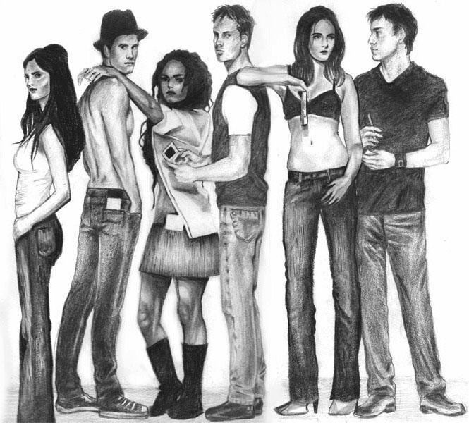 girls and boys by bellaKw