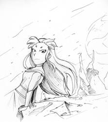 Inktober #3 Starfire