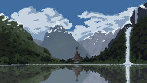 Norwegian Fjord by MsCotton