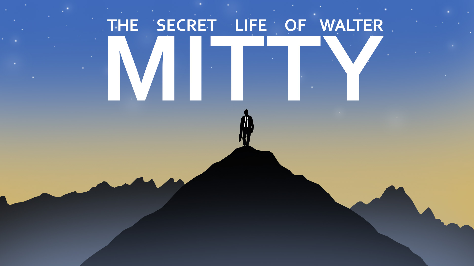 Secret Life Of Walter Mitty Cover Art Title By