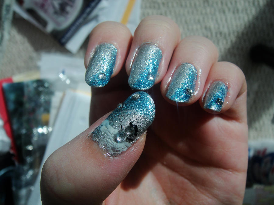 Winter Nails by MelodicInterval on DeviantArt