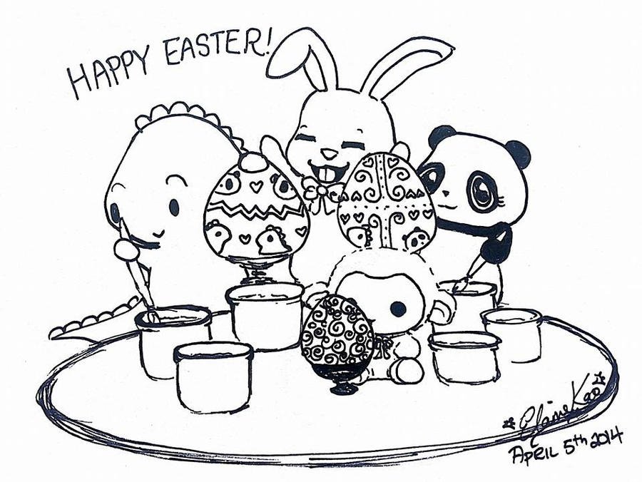 Happy Easter 2015 by MelodicInterval