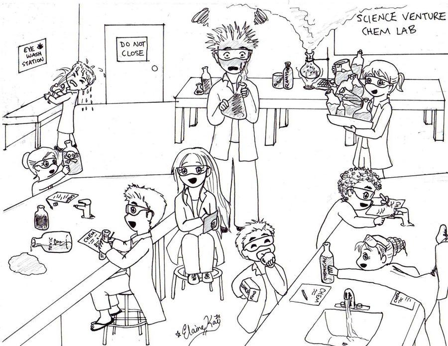 Science Lab Illustration By Melodicinterval On Deviantart