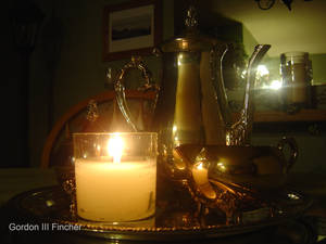 Tea By Candle Light