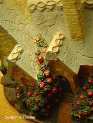 Ladybug on a House