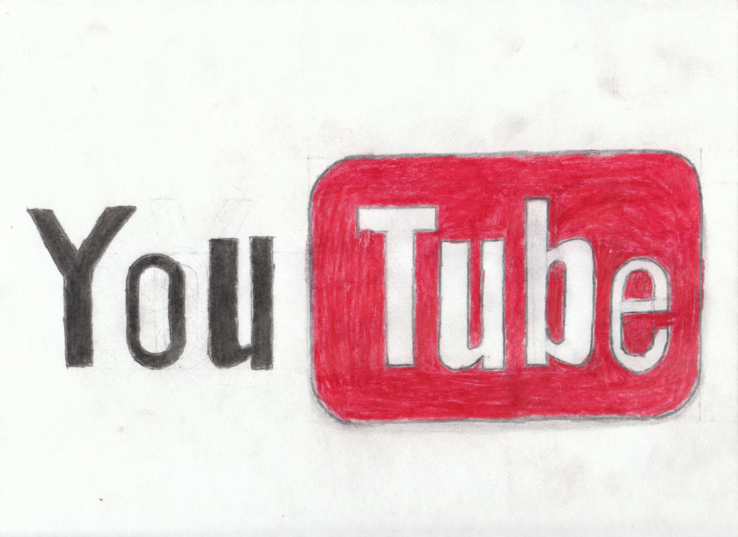 D Line Drawings You Tube : Youtube logo by jurgenluvsbacon on deviantart