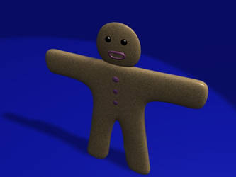 Gingerbread man by MarcinBBlack