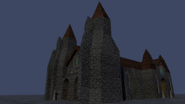 Hammerite Cathedral  - ovierview