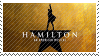 Hamilton Broadway Stamp