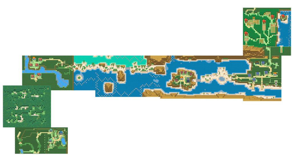 Pokemon Desert Island Rom