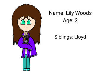 Lily Woods (Security Puppet Kid) by SnakFlakethePenguin on