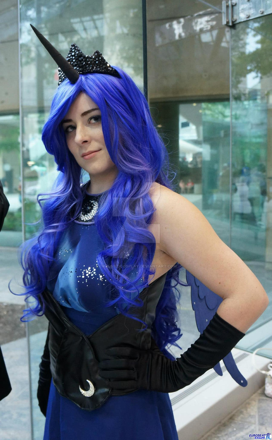 MLP: Princess Luna Close-Up by TresWildCosplay