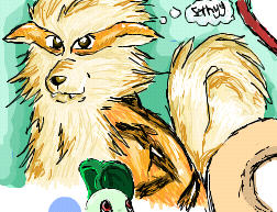 Arcanine iscribble by Ellz112