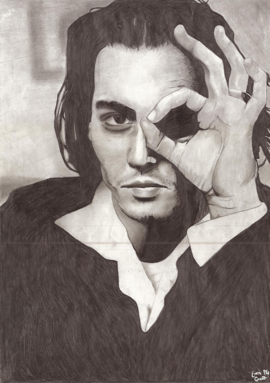 Johnny Depp by Ellz112