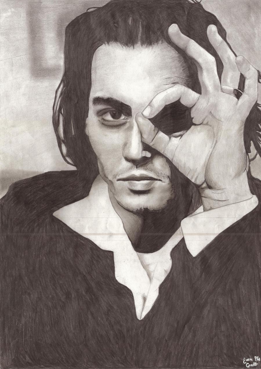 Johnny Depp by Ellz112