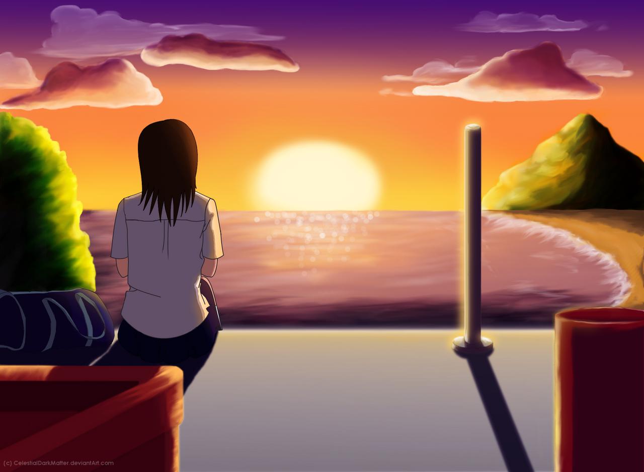 Sunset Memories by CelestialDarkMatter