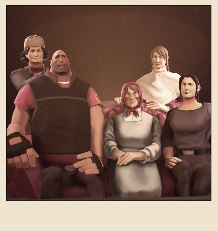 Heavy's Family Portrait by CelestialDarkMatter