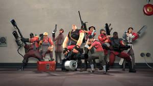 Fem Fortress 2: Meet the RED Team
