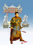 Chinese warrior by Zafetac