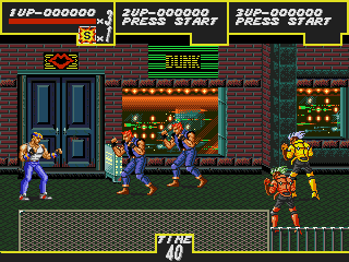 Streets of Rage Anniversary edition by DintheAbary