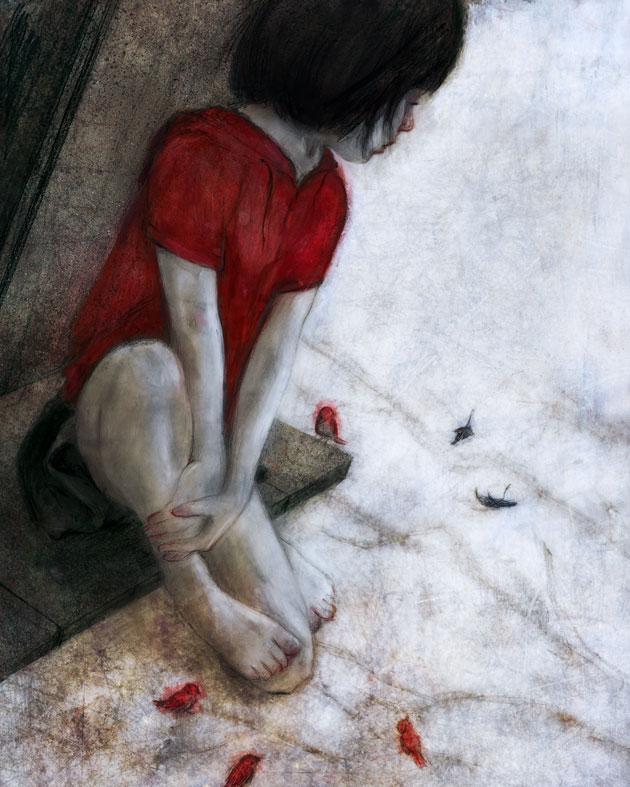 The girl by BeatrizMartinVidal