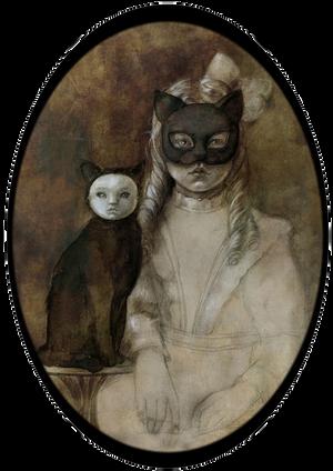 Cat and Girl by BeatrizMartinVidal