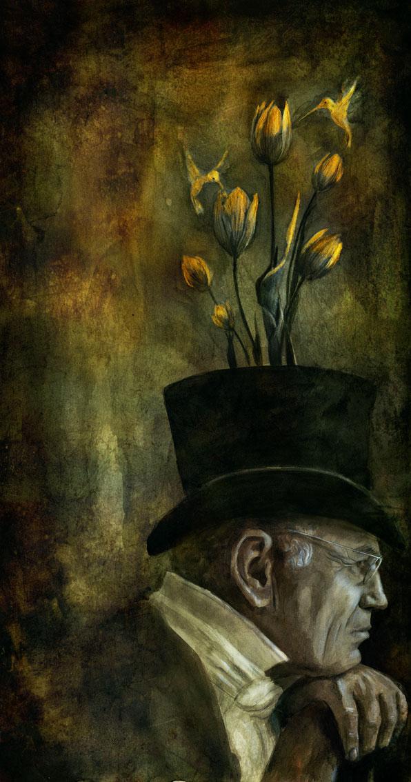 The thinker by BeatrizMartinVidal