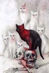 The Cats of Ulthar by BeatrizMartinVidal