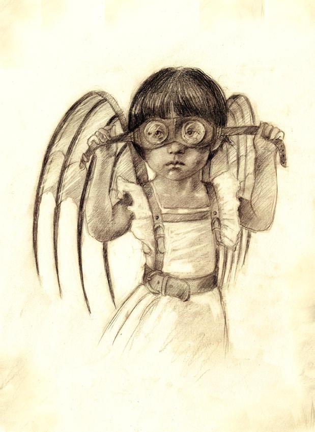 Grandma was a bird by BeatrizMartinVidal