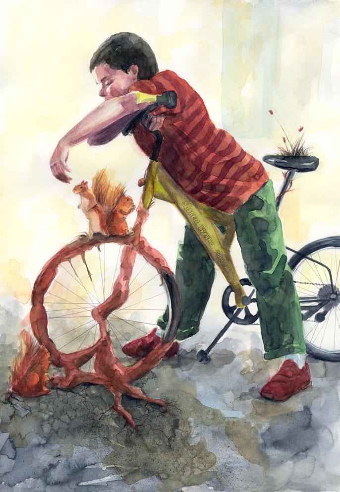 Oh my bike by BeatrizMartinVidal