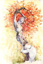 Daphne and Apollo by BeatrizMartinVidal