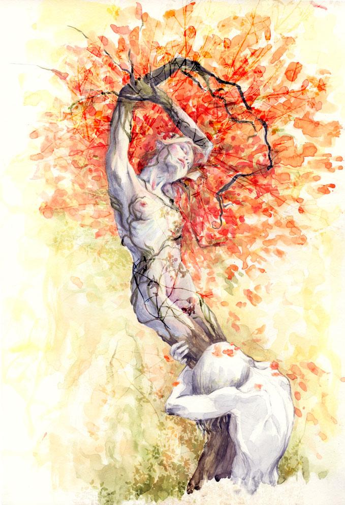 Daphne and Apollo by BeatrizMartinVidal on DeviantArt