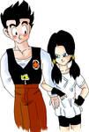 Gohan and Videl