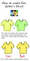 TUTORIAL - Goten's shirt