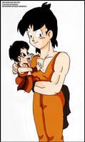 Son Goten and Son Pan
